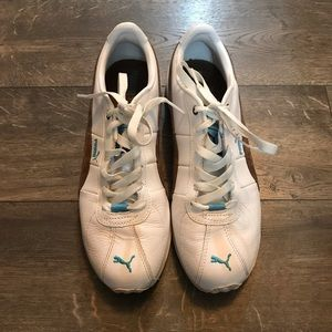 Puma Leather Classic Shoes SZ 9
